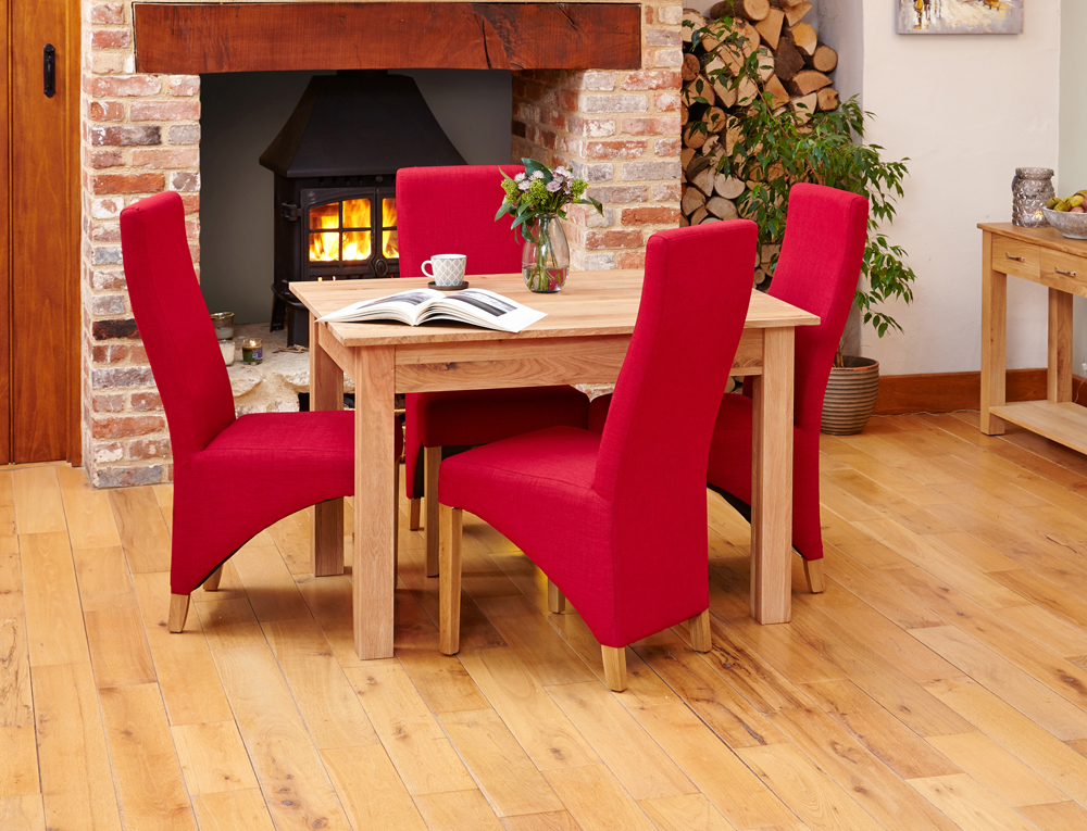 Mobel Oak Dining Table 4 Seater When In Home Oak Furniture Sofa And Gazebo Store